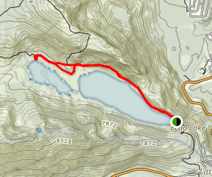 Echo Lakes Trail Map