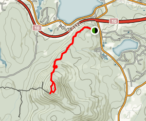 Mont Chagnon Trail Map