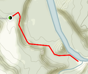 Valentine Flats Trail Map