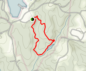 Oconee Bells Nature Trail  Map