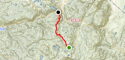 Carson Pass to Echo Summit Map