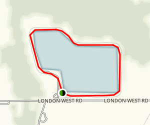 Shelby Resevoir Trail Map