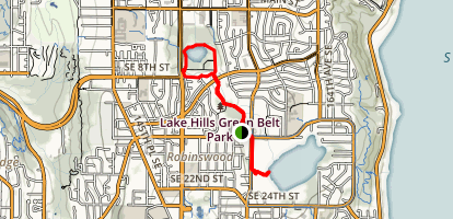 Lake to Lake Trail Map