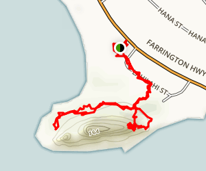 Makaha Trail Map