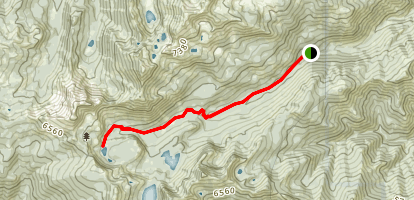 Shackleford Creek to Summit Lake Map