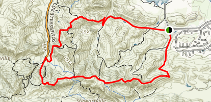 Ridge Trail Loop Map