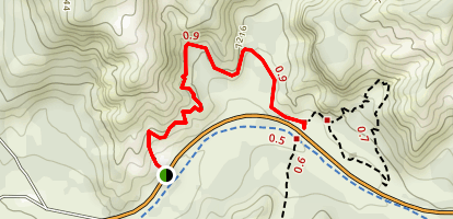 Bird's Eye Trail Map