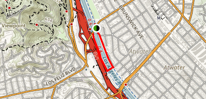Atwater River Walk Map