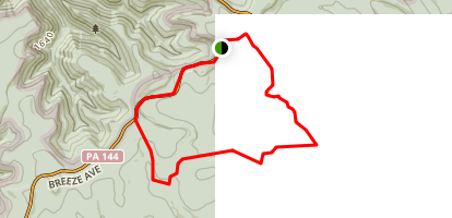 Chuck Keiper Trail, East Loop Map