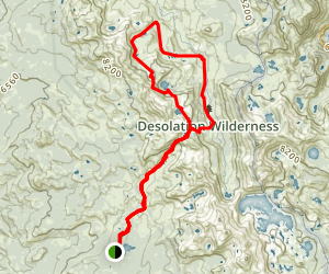 McConnell Lake Loop Trail Map