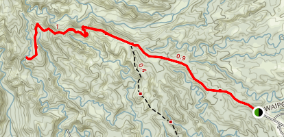 Moalepe Trail Map