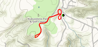 Kukuiolono Park Map