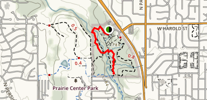 Upper Ridge Trail Map