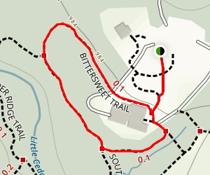 Bittersweet Trail Map