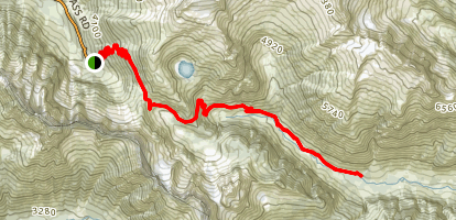 Cascade Pass Trail Map