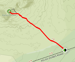 Kelso Dunes Trail Map