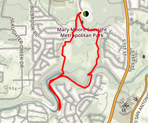 Mary Moore Searight Park Trail Map