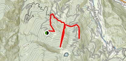 Bachelor Gulch Trail Map