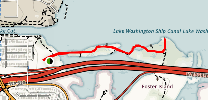 Arboretum Waterfront Trail Map
