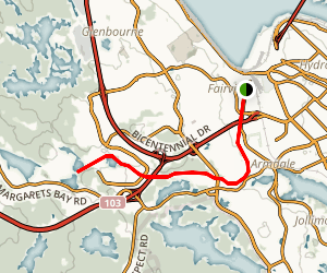 Chain of Lakes at Greenway Trail Map