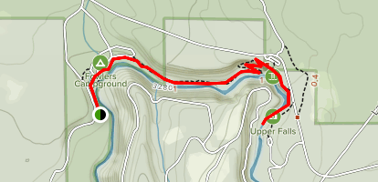 McCloud Waterfall Trail Map