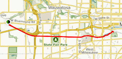 Hank Aaron State Trail Map