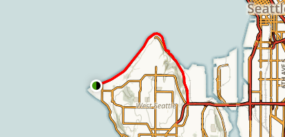Alki Trail Map