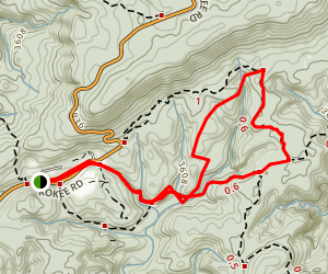 Berry Flat Trail Map