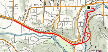 Bothell Landing Trail Map