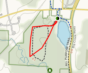 Lake Isaac Trail Map