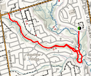 East Don River Trail Map