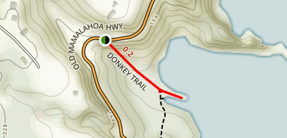 Donkey Trail Map