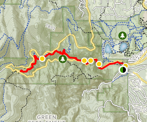 North Cheyenne Columbine Trail Map