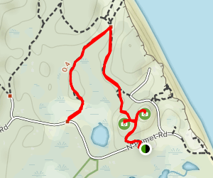 Pamet Cranberry Bog Trail Map