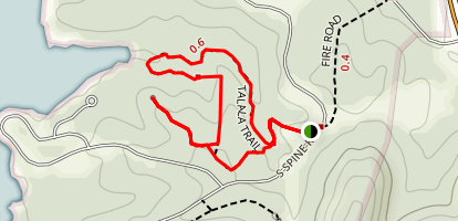 Talala Trail Map