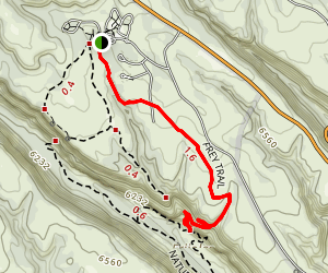 Frey Trail Map