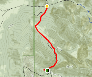 Guaje Canyon Trail Map