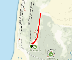 Chief Siltcoos Trail Map