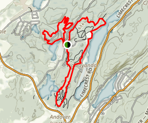 Kittatinny Valley Park Trail Map