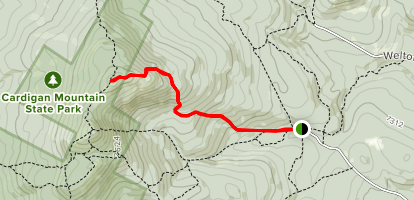 Manning Trail Map