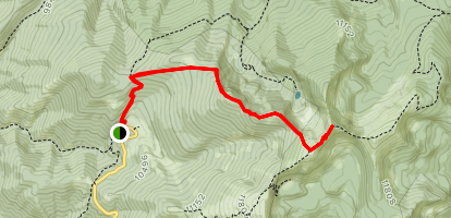 Deception Peak Map