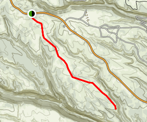 Burnt Mesa Trail Map