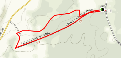 Lime Hollow Center for Environment & Culture Trails Map