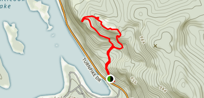 Maiden Cliff Trail Map