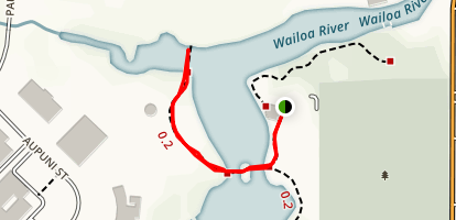 Wailoa River State Park Trail Map