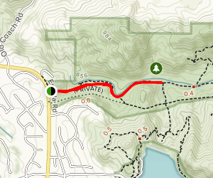 Blue Sky Ecological Reserve Trail Map