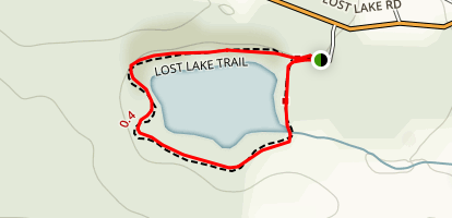 Lost Lake Trail Map