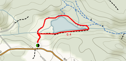 Linley Valley/Cottle Lake Trail Map