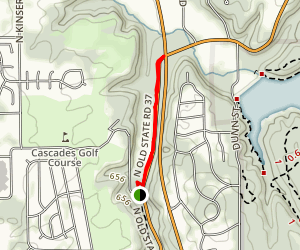 Cascades Park Trail Map