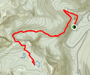 Two Mouth Lakes Map